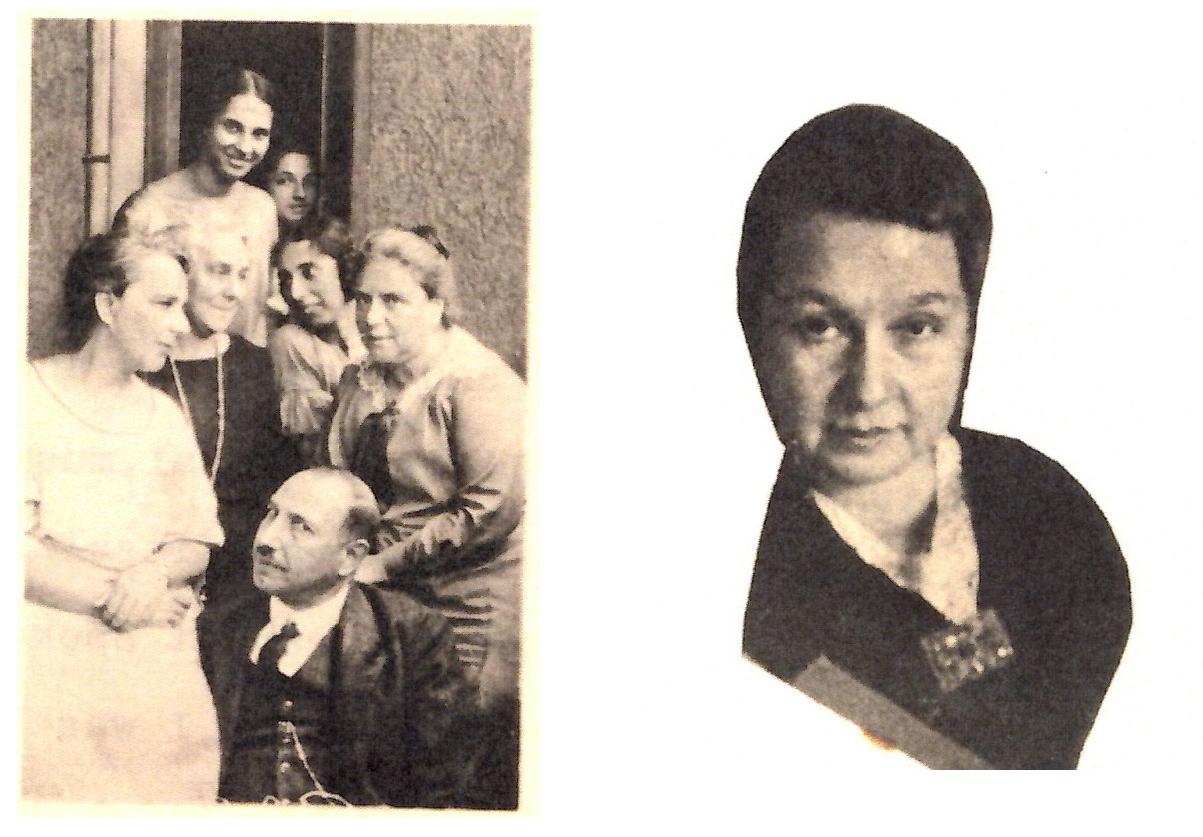Johanna Maaß und ihre Familie