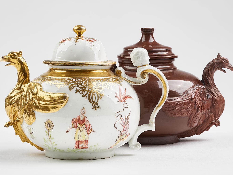 Zwei Teekannen