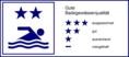 Symbol für gute Gewässerqualität (zwei Sterne)