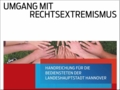 Titel der Handreichung zum Umgang mit Rechtsextremismus