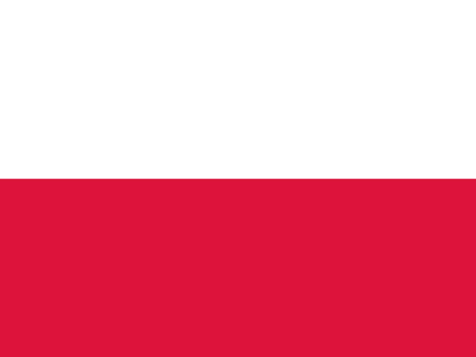 Flagge Polens