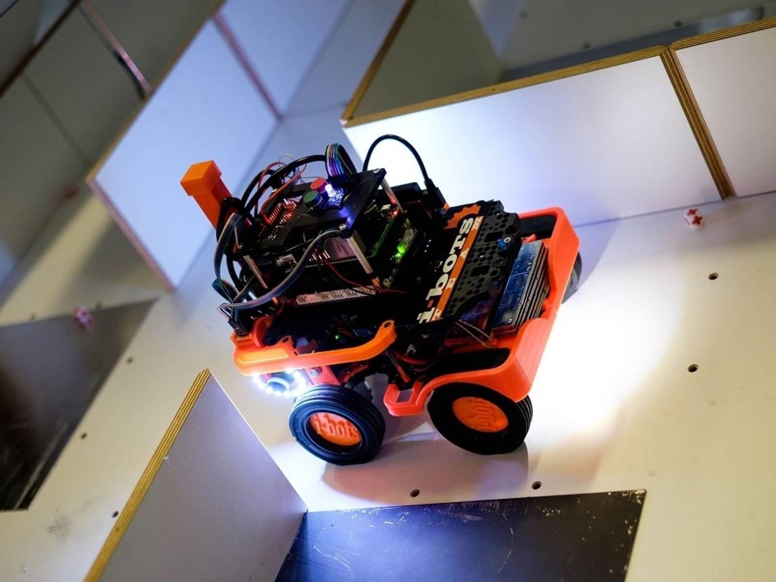 Impressionen Qualifizierung RoboCup2019