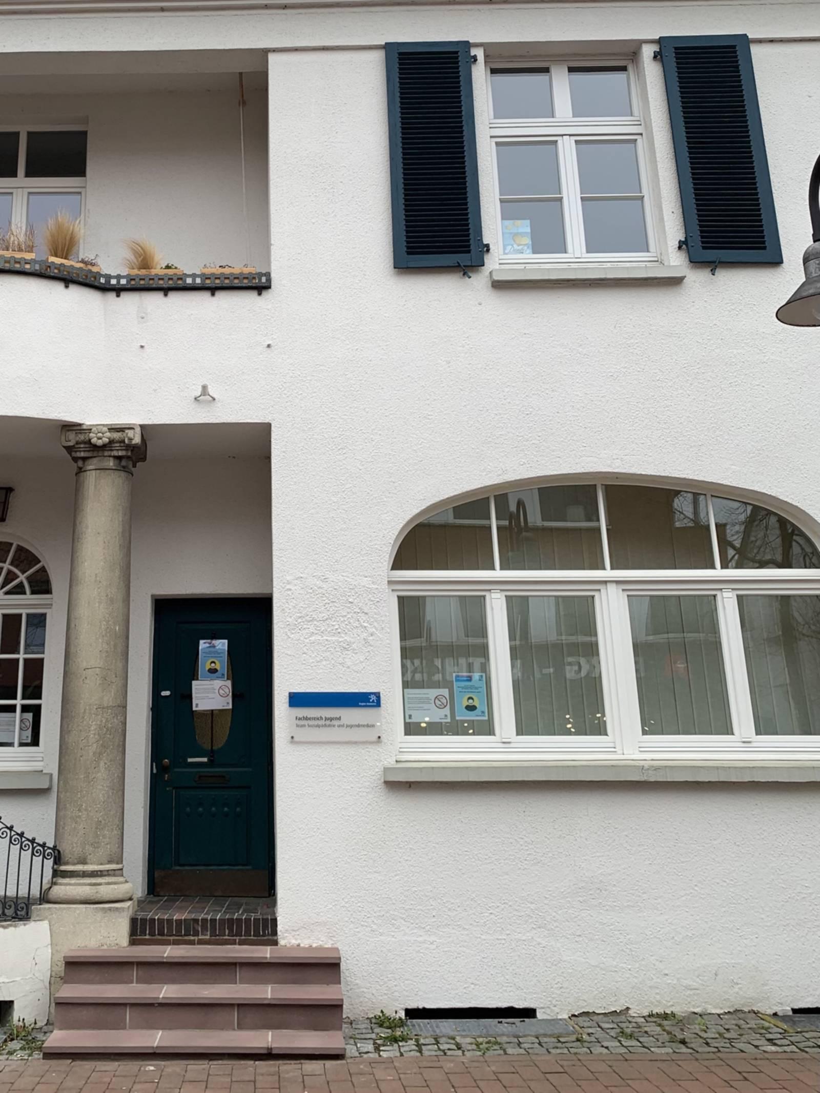 Eingang in ein Gebäude