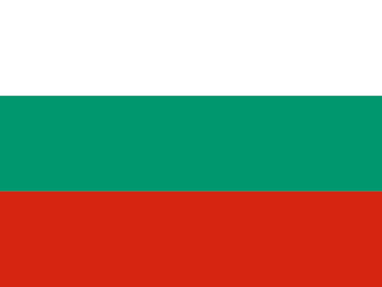 Flagge Bulgariens