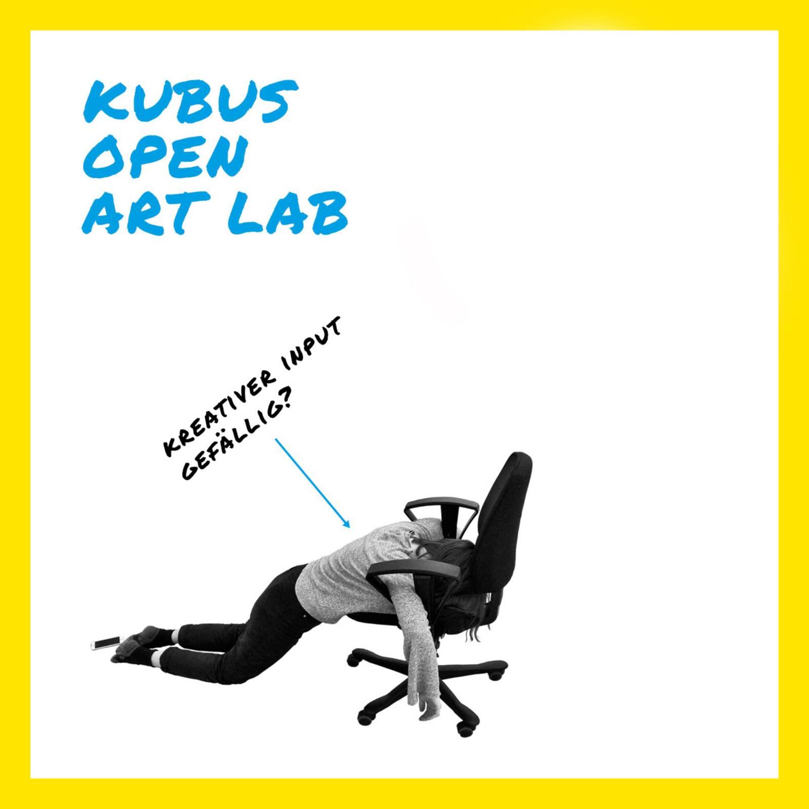 KUBUS OPEN ART LAB – kreativer Input gefällig?