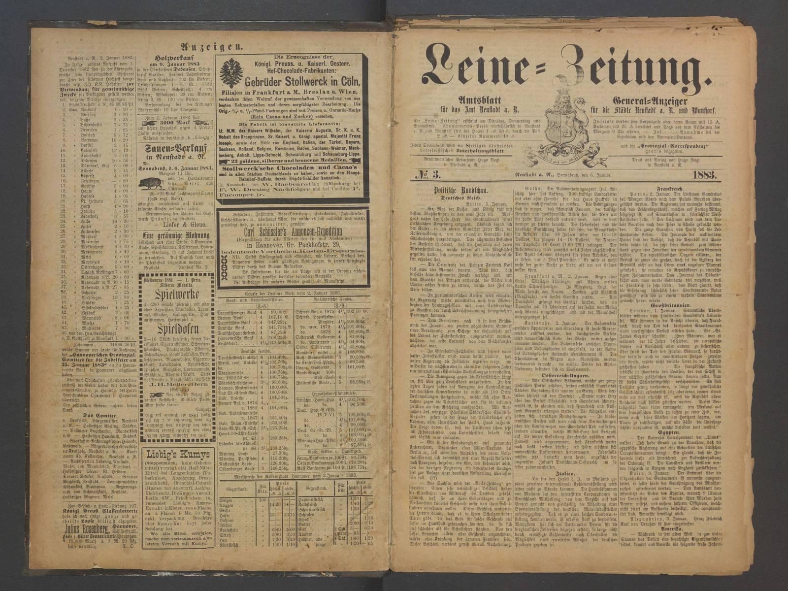 Historische Zeitung