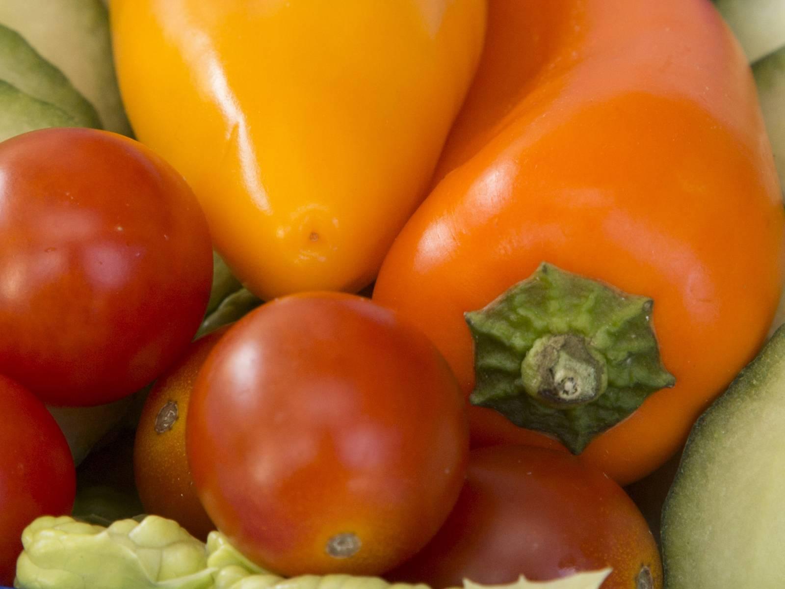 Gurke, Tomaten, Paprika