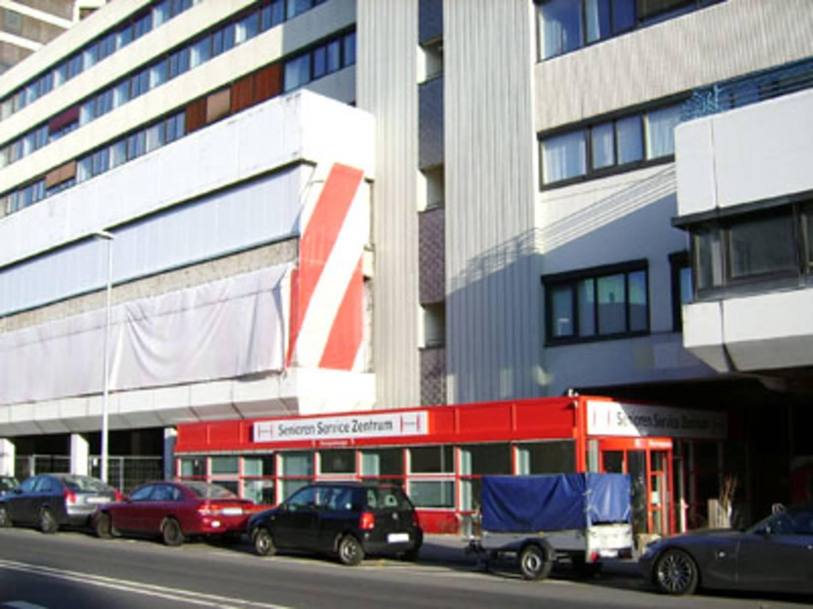 Ausweichstandort des Bürgeramtes Linden im Ihmezentrum