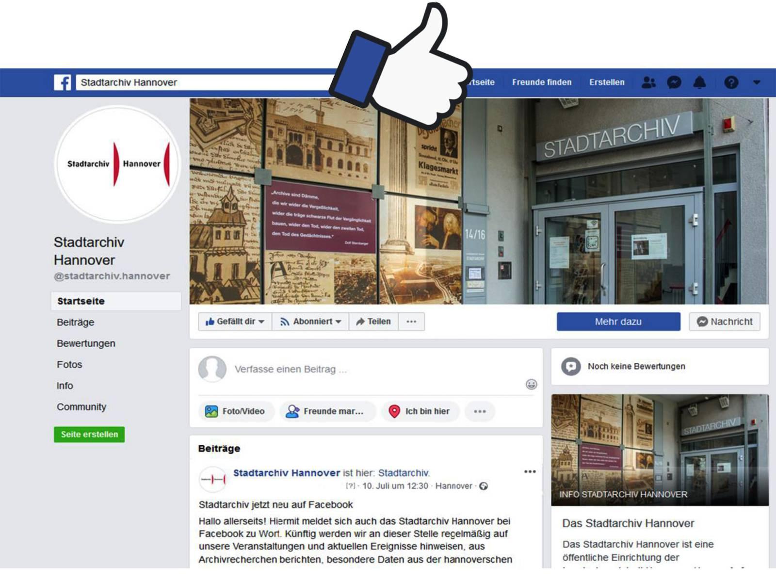 Das Stadtarchiv Hannover berichtet auf Facebook über kuriose Aktenfunde und die Stadtgeschichte Hannovers.