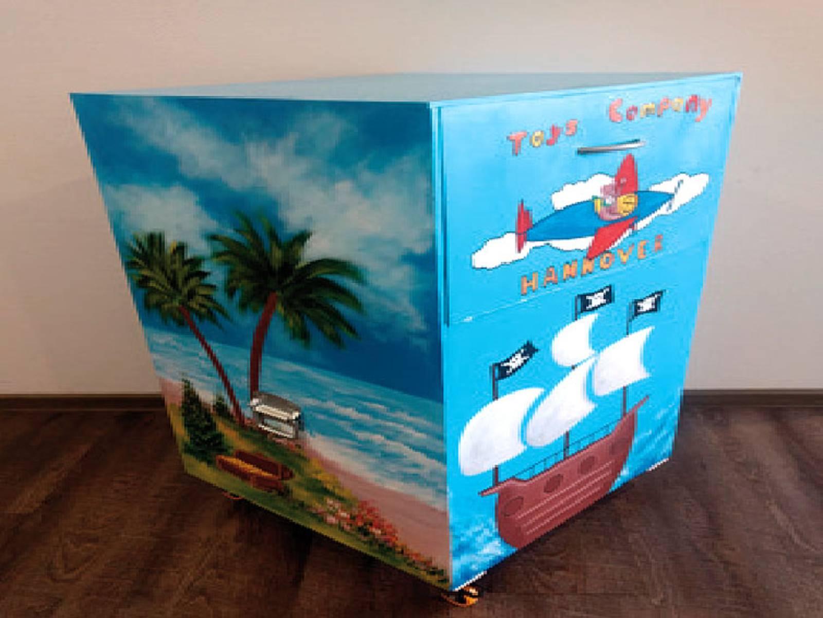 Sammelbox für Spielsachen der Toys Company