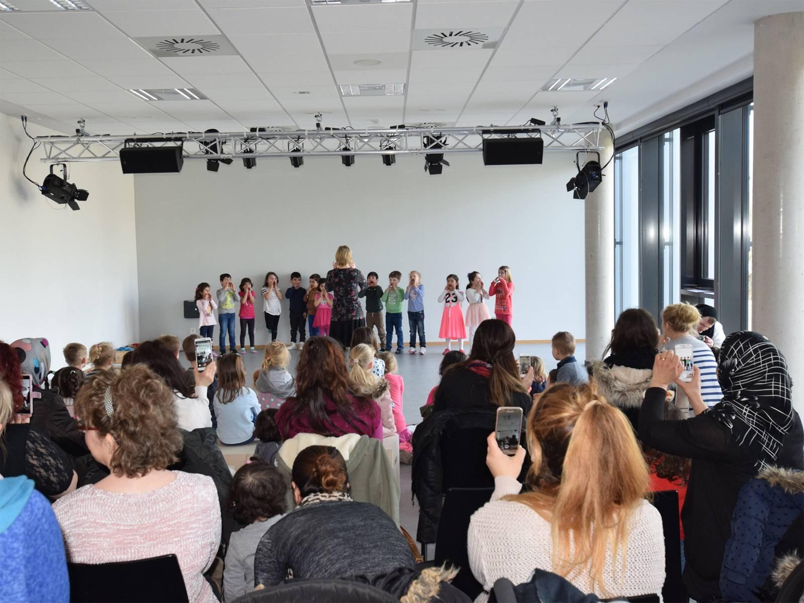 Musikveranstaltung im TPZ-Gruppenraum