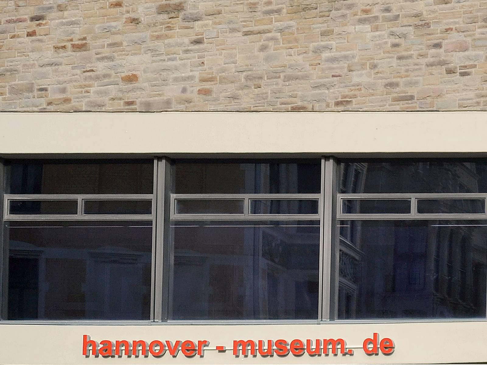 Schriftzug am Eingang des Historischen Museum (Bildausschnitt)