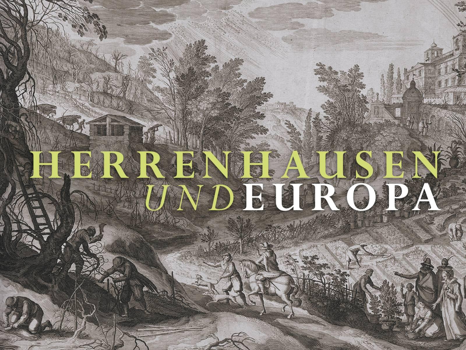 Buchcover der Begleitbandes zur Sonderausstellung Herrenhausen und Europa