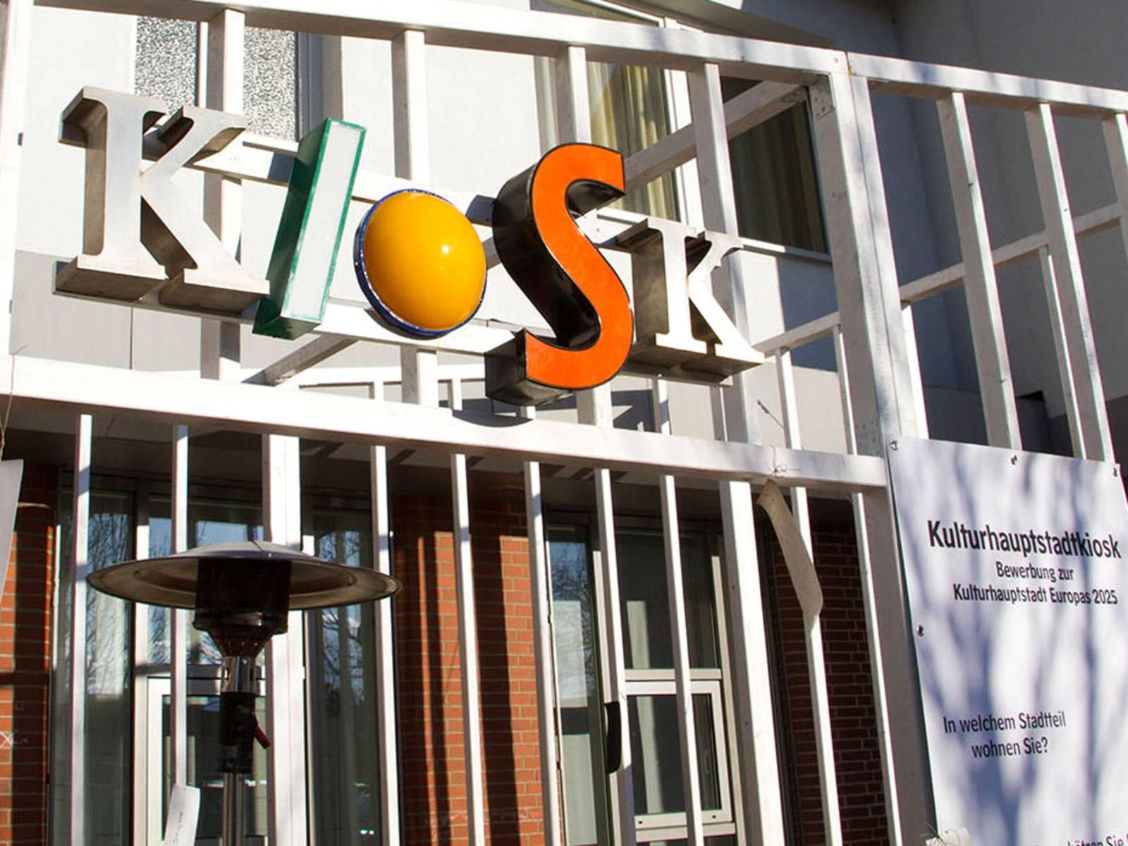 Kulturhauptstadt-Kiosk in Ricklingen