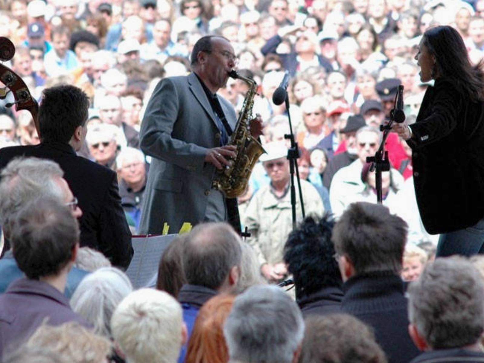 Jazz auf dem Trammplatz