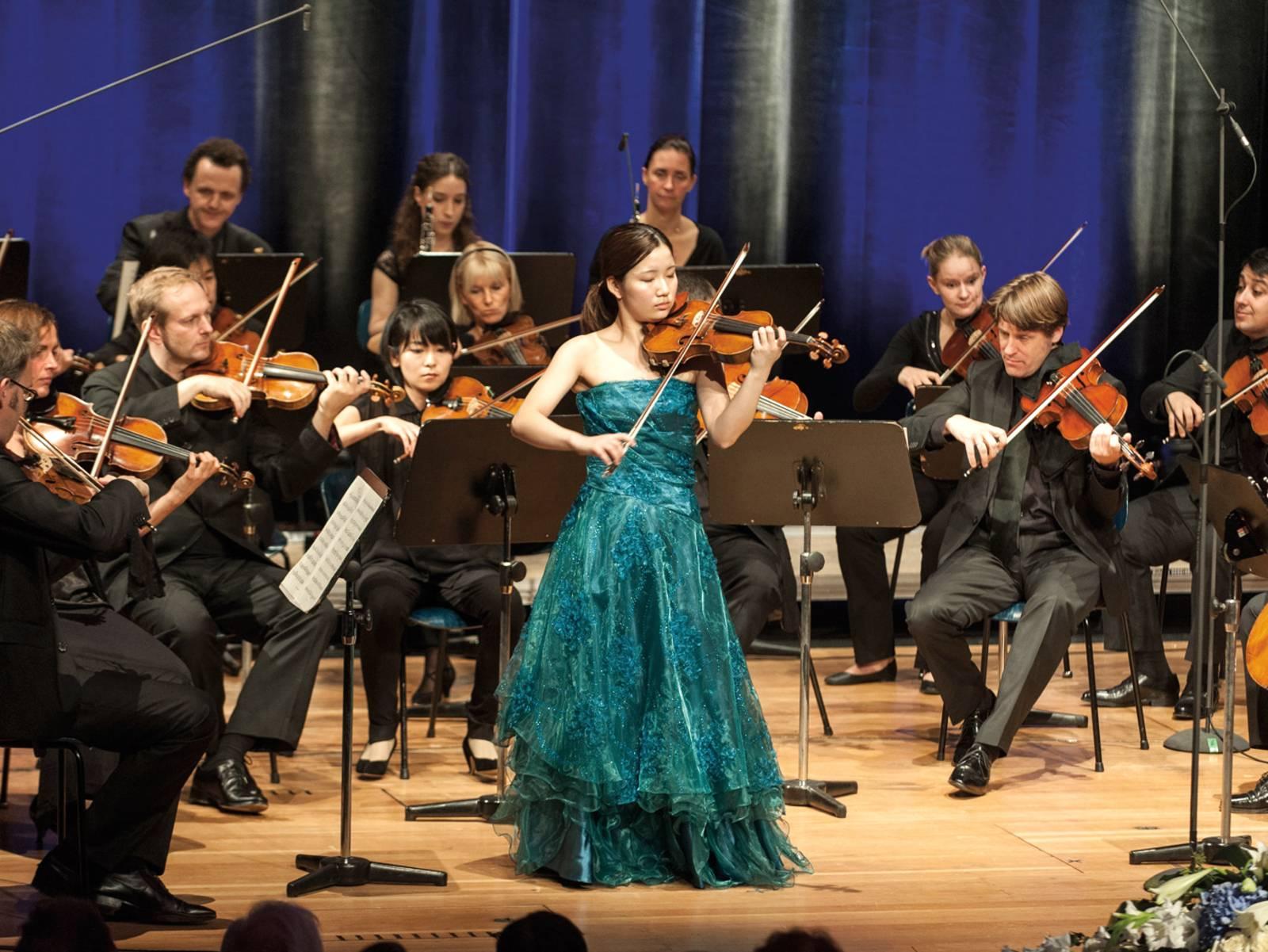 Kammerorchester mit Solistin