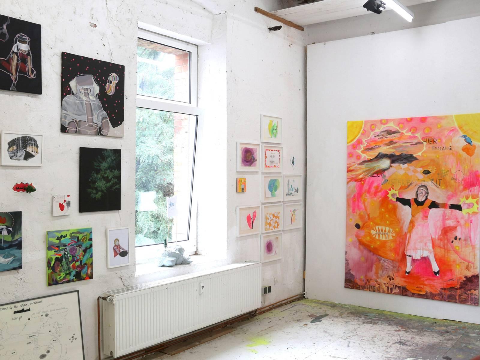 Kunst: Meike Zopf, Ateliers der Eisfabrik