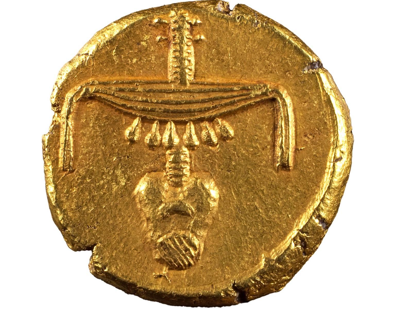 Goldmünze: Stater, Gold, 360-342 v. Chr., Ägypten, 1989