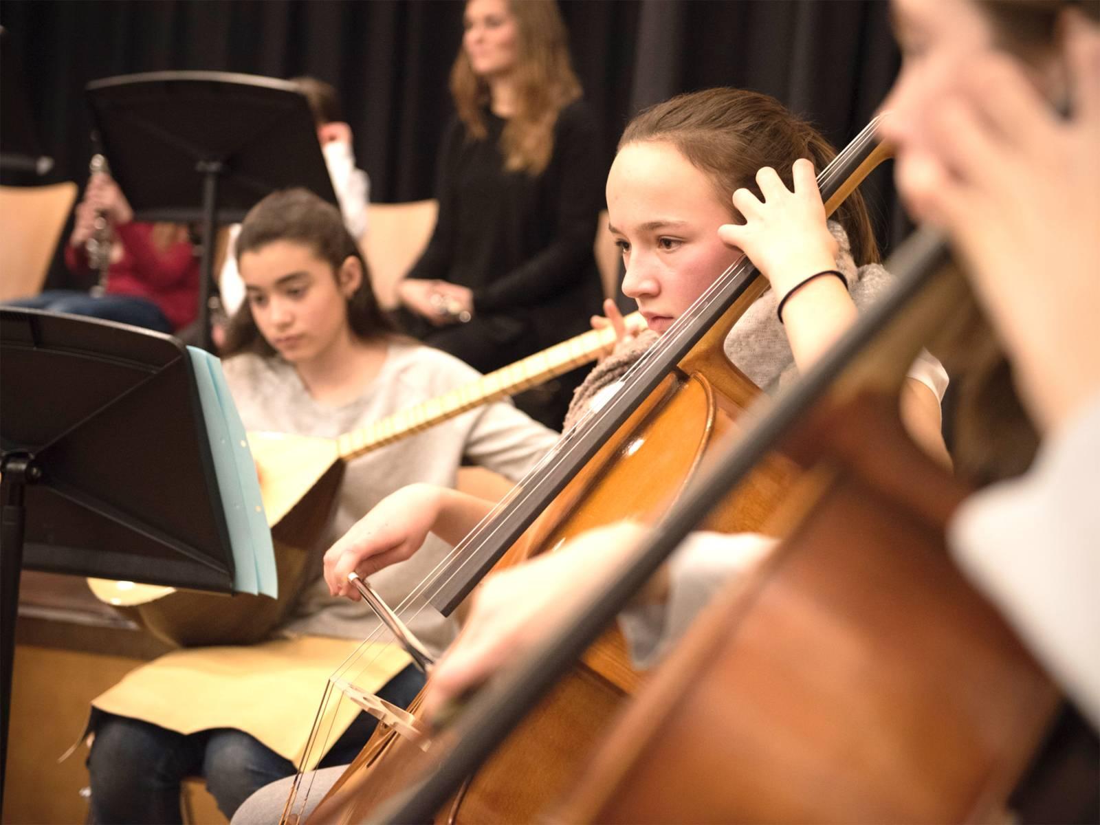 Orchesterwerkstatt für Saiteninstrumente