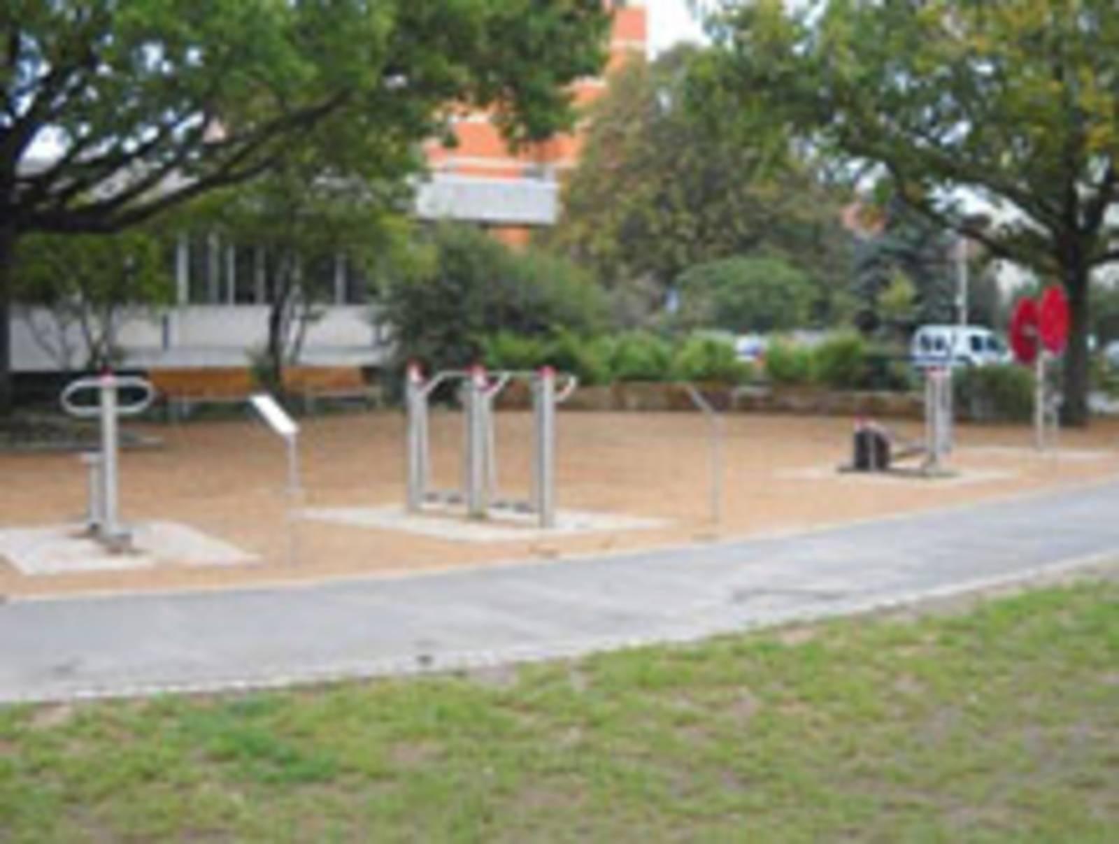 Fitnessparcours am Freizeitheim Ricklingen
