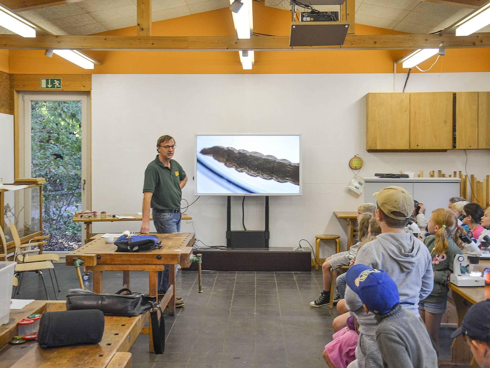 Lehrraum in der Waldstation Eilenriede