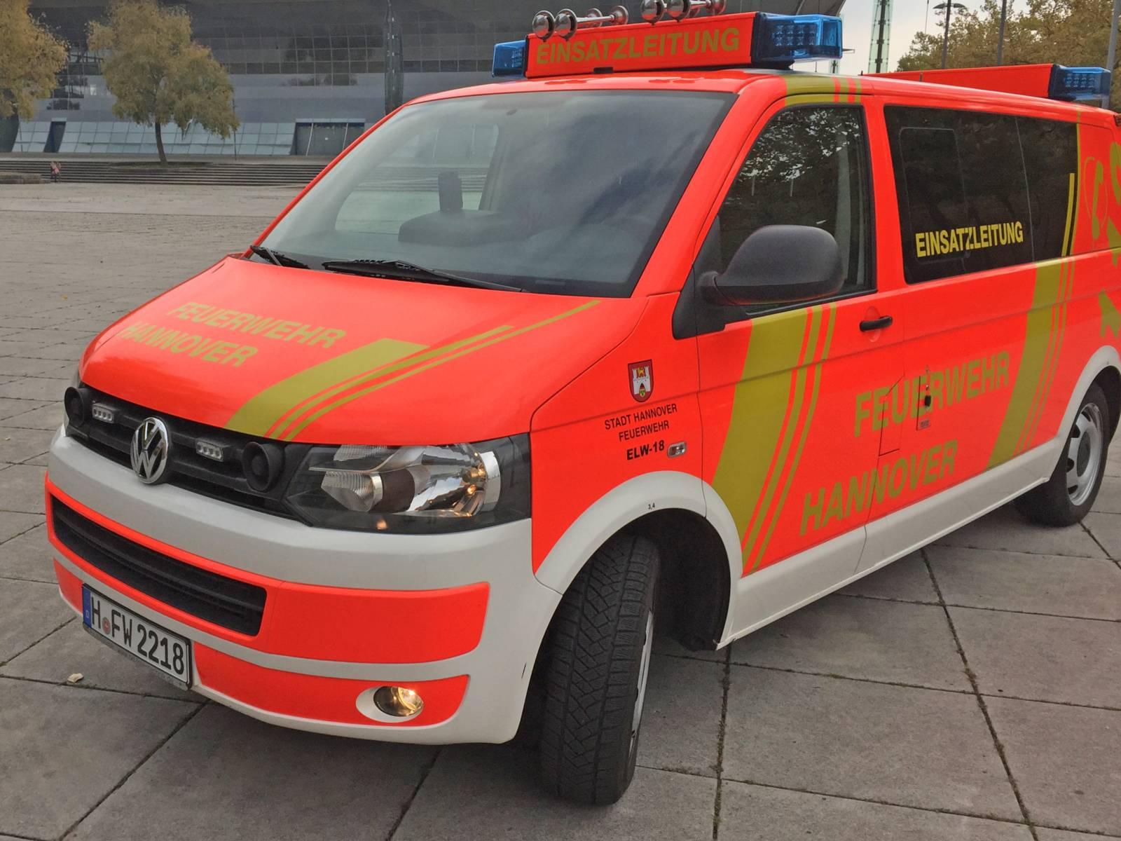 Symbolfoto ELW eines Löschzuges der Feuerwehr Hannover