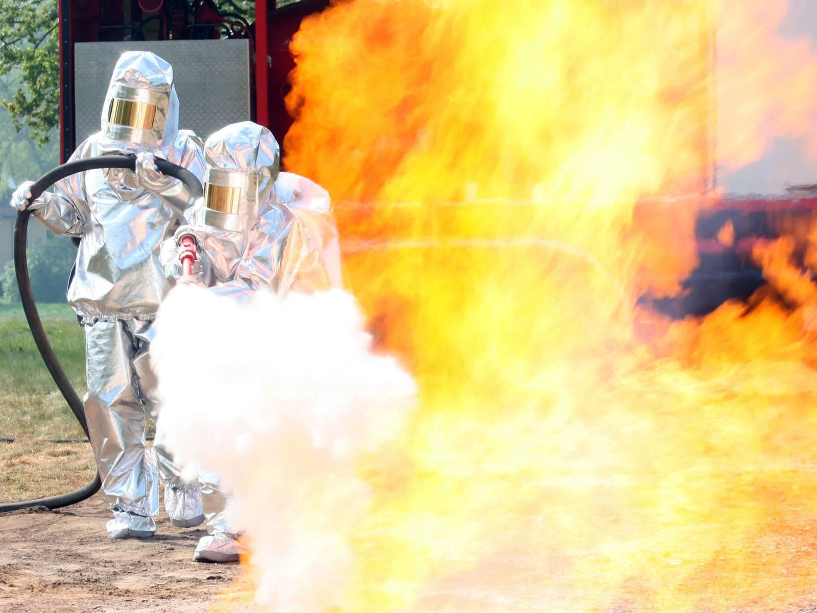 Gasbrandbekämpfung