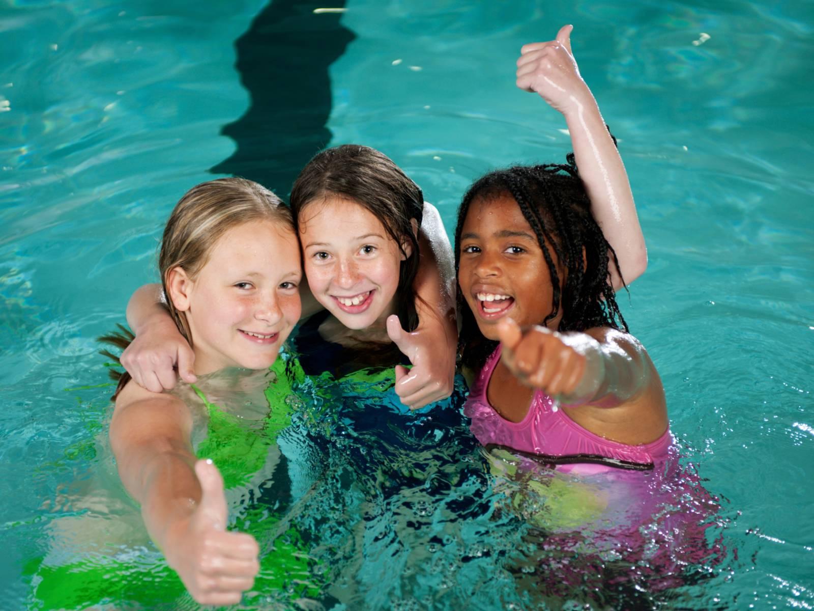 Symbolfoto für Mädchenschwimmen -