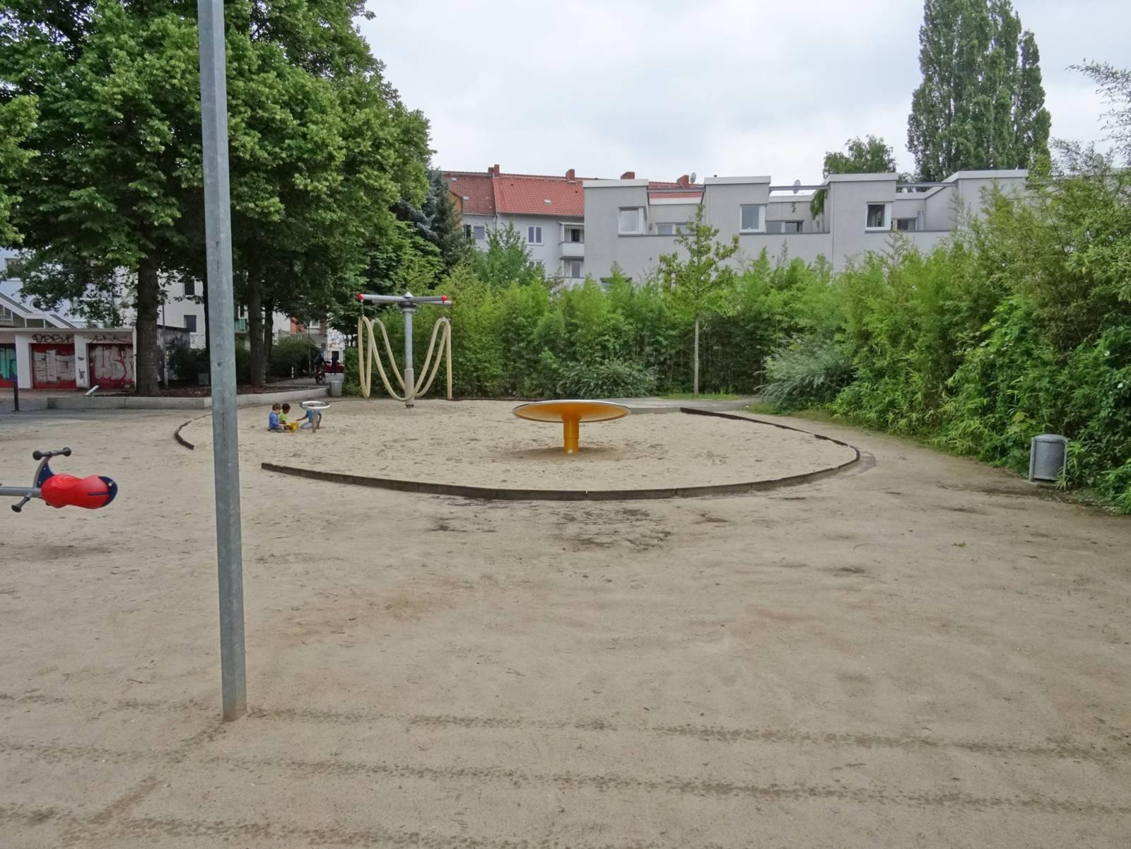 Spielplatz.