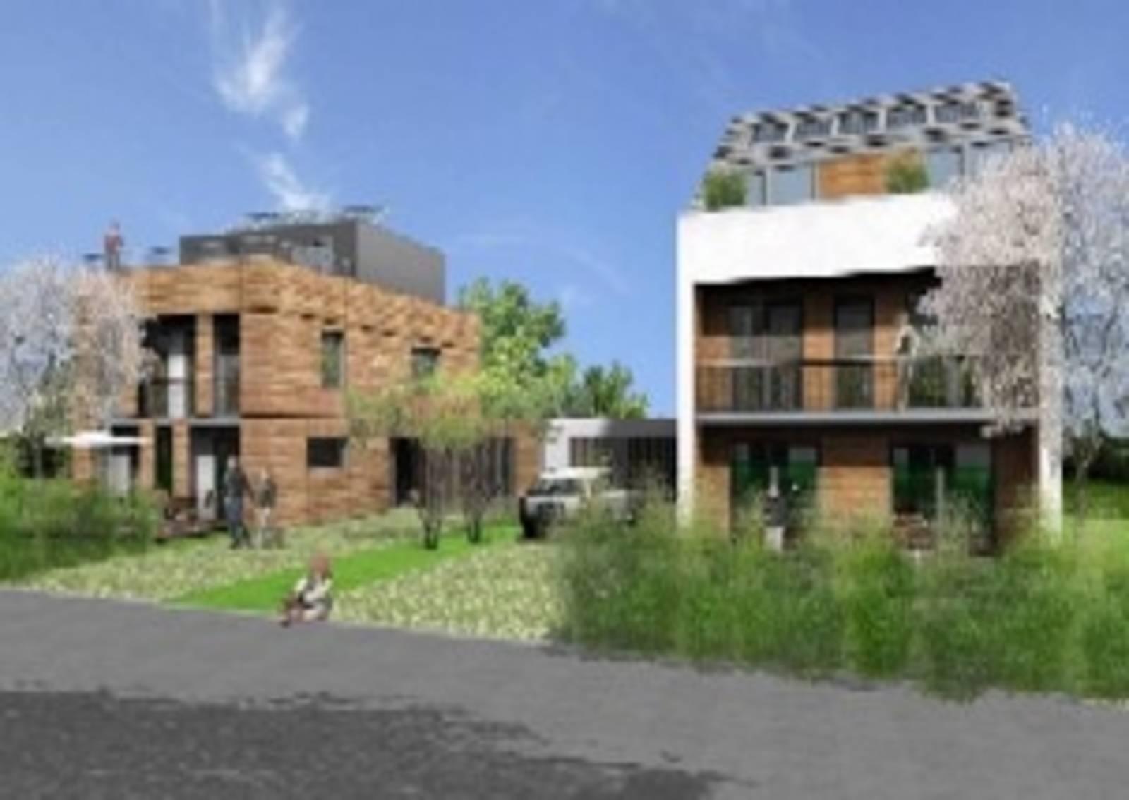 Energiesparende Häuser in der Rehre