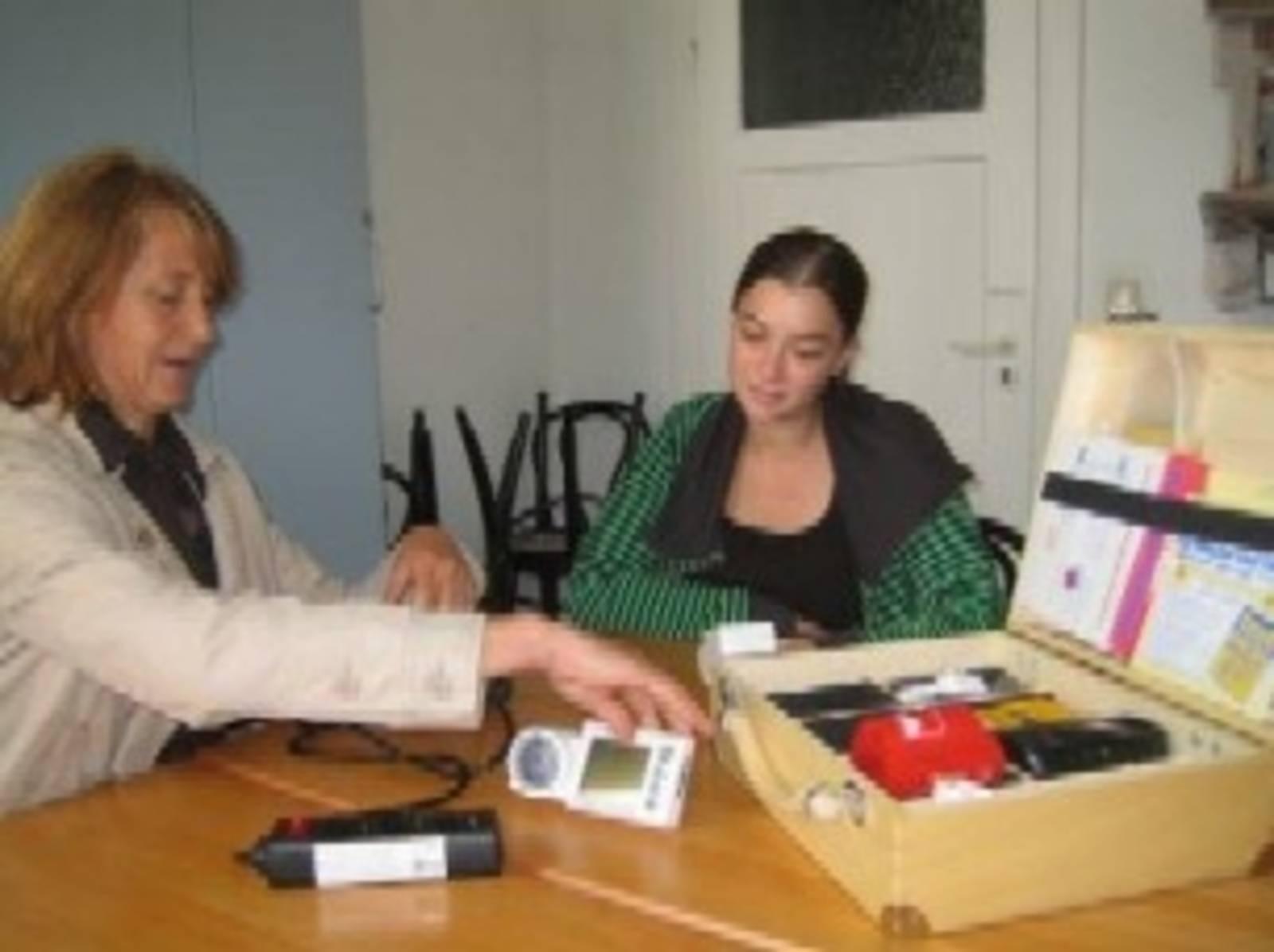 Gespräch mit Energieberaterin