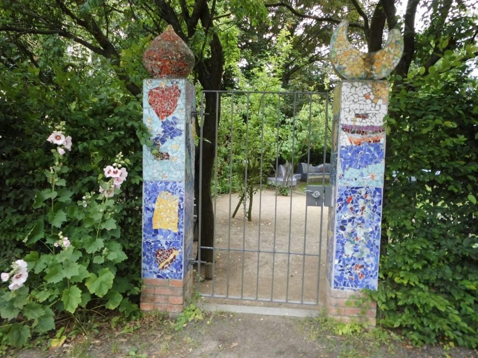 Eingang zum TeeGarten in Hainholz