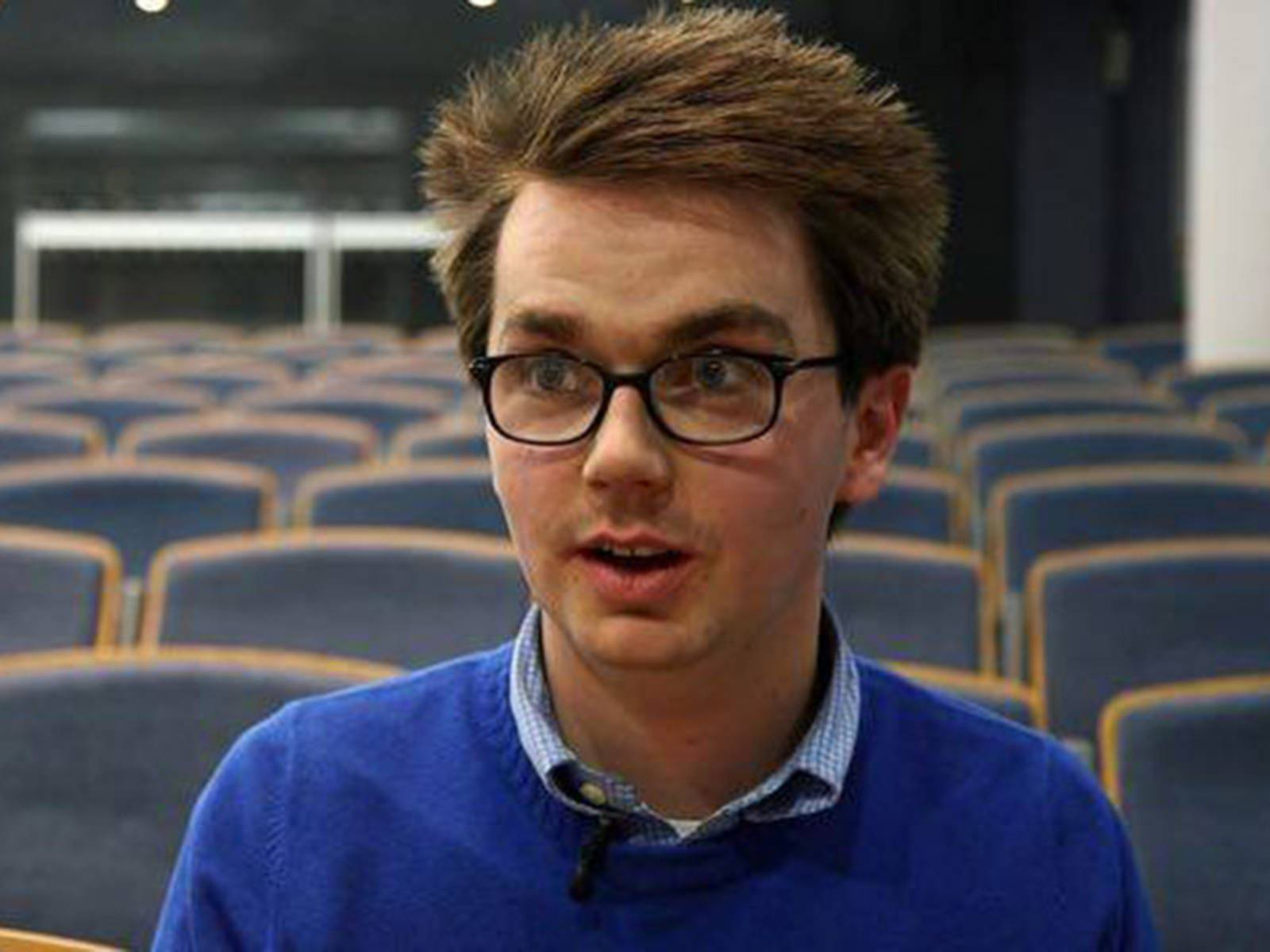 Steven Wright, ein Erasmus-Student, im Interview