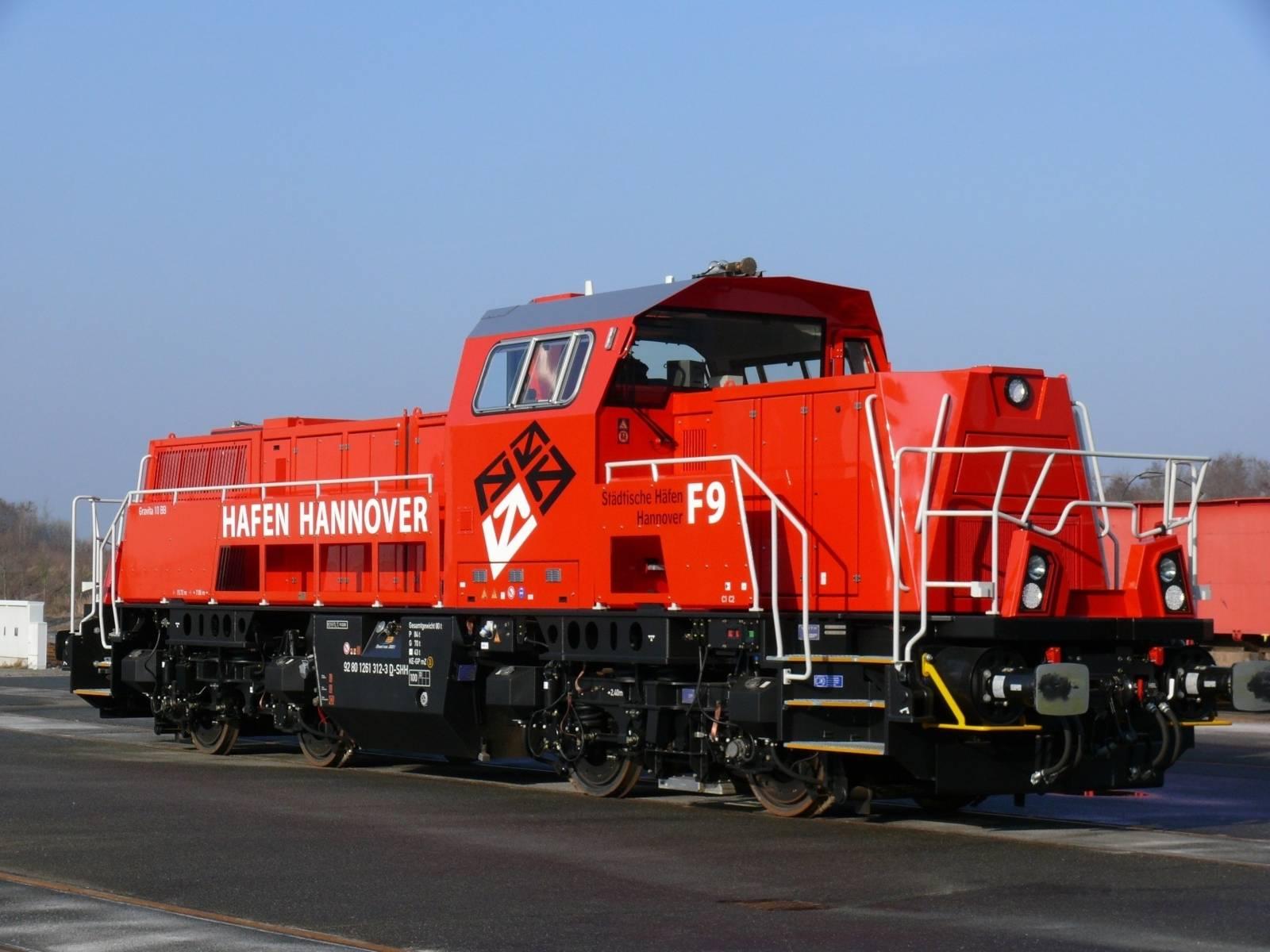 neue Lok F9