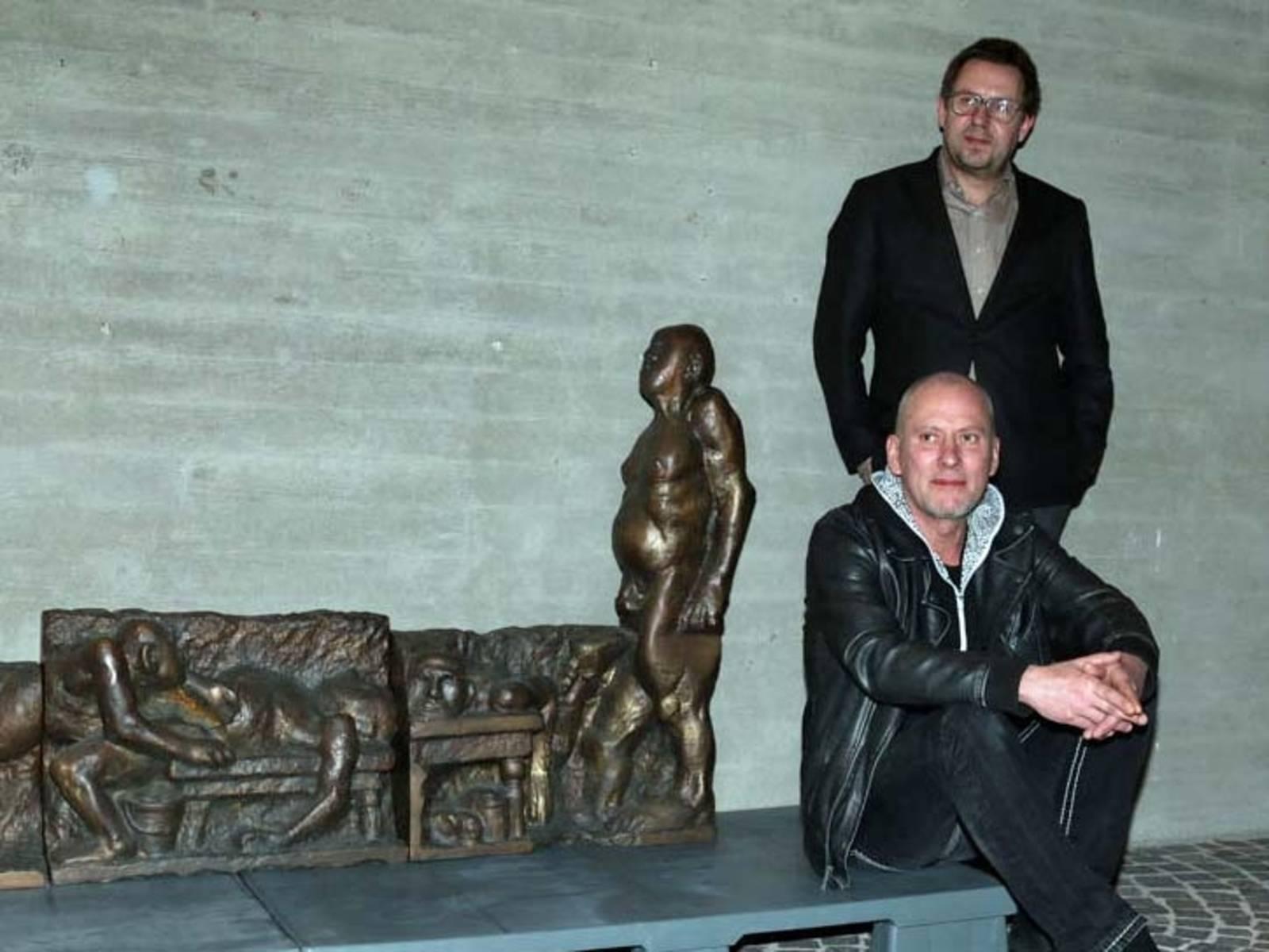 Zwei Männer und ein Vries.