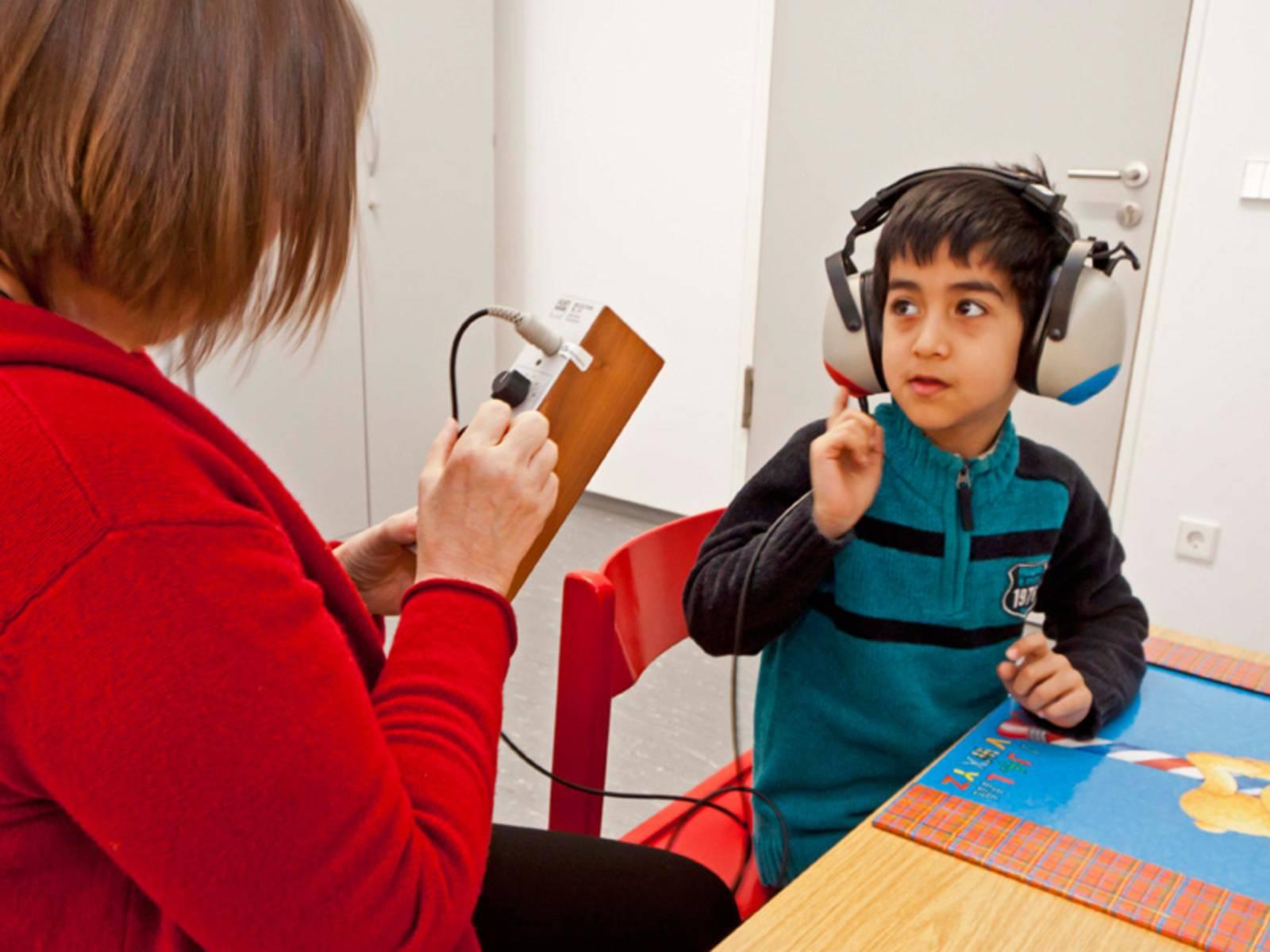Schuleingangsuntersuchung - Hörtest