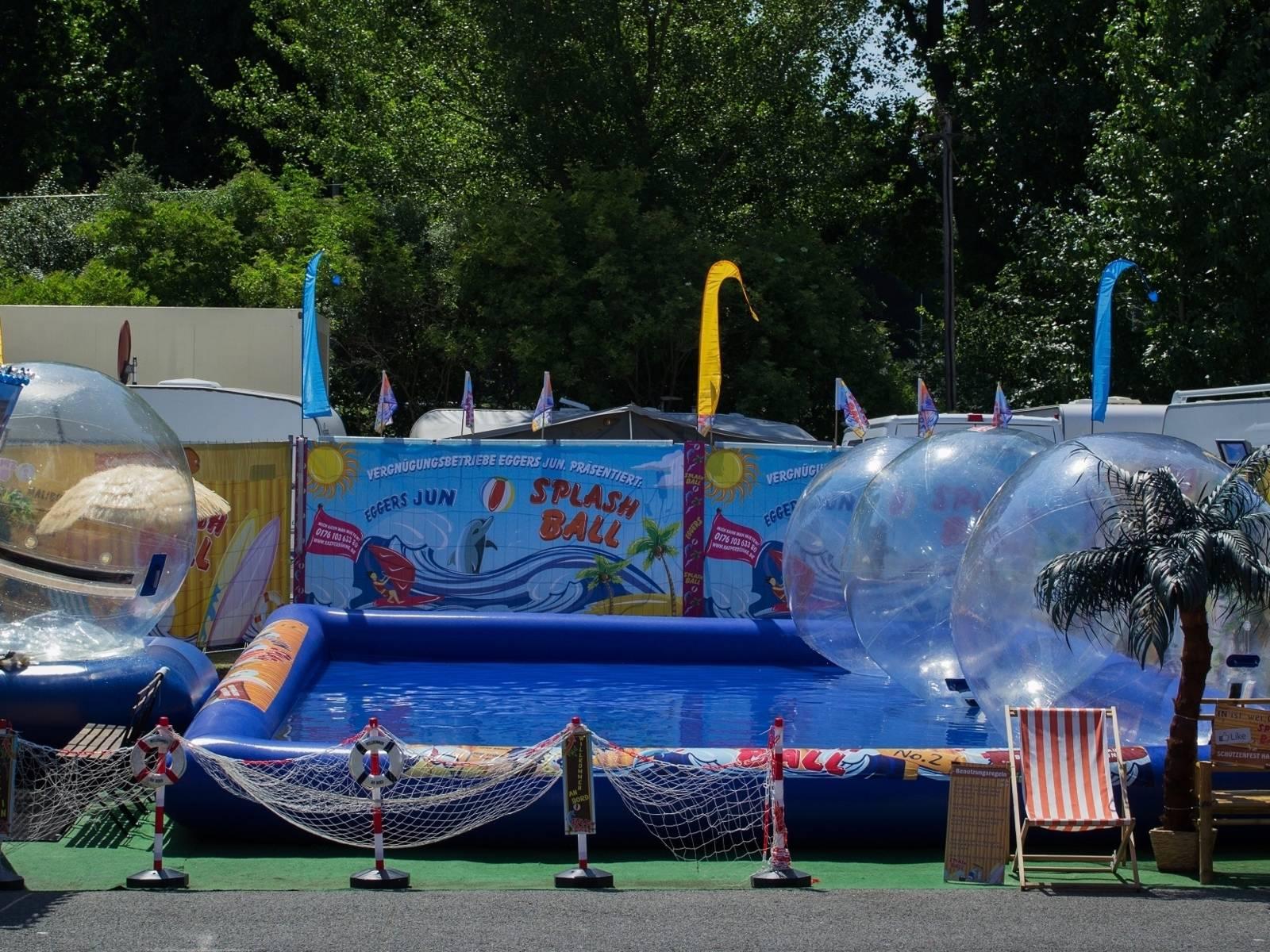 Kindergeschäft Splash Ball