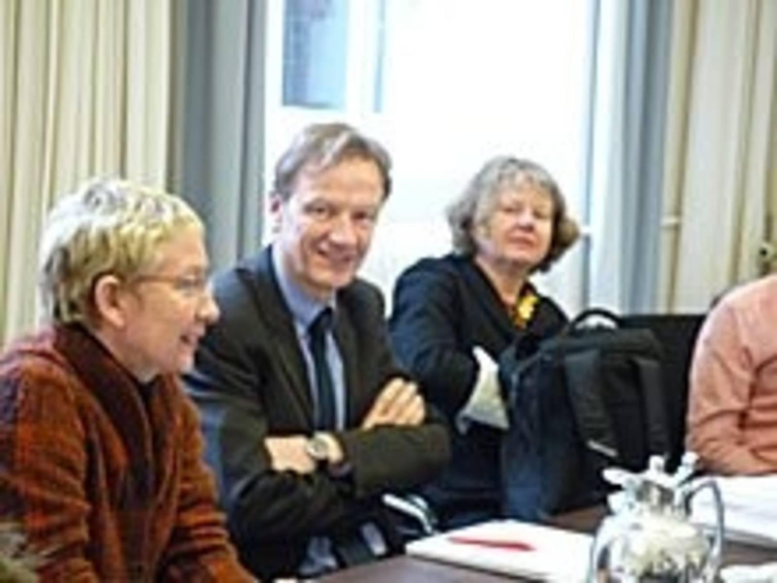 Moderatoren mit Bodemann
