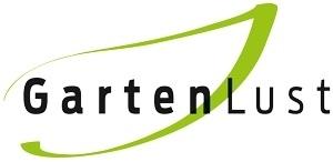"""Logo, in dem """"Gartenlust"""" steht."""