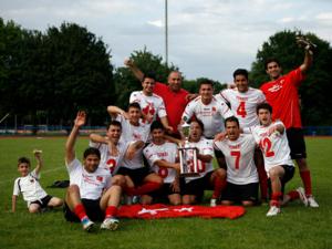 Die Siegermannschaft aus der Türkei