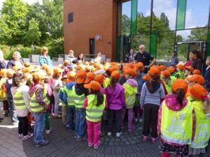 Vorschulkinder beim Singen