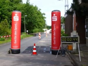 Zieleinlauf am Rosenbuschweg