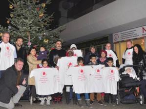 """Weihnachtsfreude bei Aktiven der """"Hannoverschen Initiative für Soziale Stadt (HISS)"""""""
