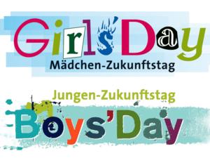 Logos für den Mädchen- und Jungen-Zukunftstag