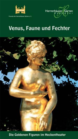 """Titelseite der Broschüre """"Venus, Faune und Fechter"""""""