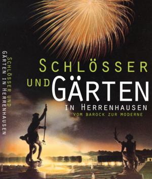 """Buchcover """"Schlösser und Gärten in Herrenhausen"""""""