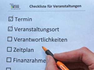 Symbolbild für eine Checkliste
