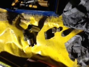 Aufschlagzünder der entschärften Fliegerbombe
