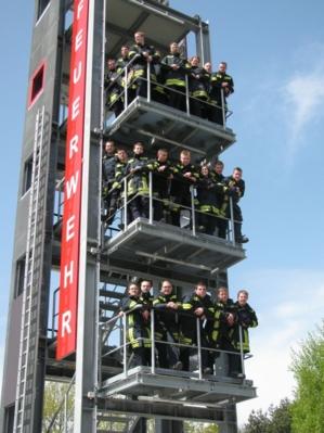 Gruppenfoto Absolventen Truppmannausbildung 04.05.2012