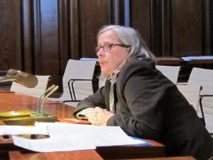 Ingrid Teschner vom Jugend- und Sozialhilfedezernat